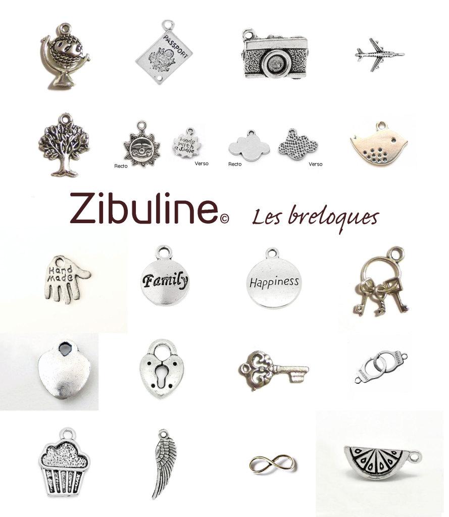 Breloques Zibuline