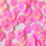 Sequins rose fluo