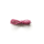 Ficelle colorée rose