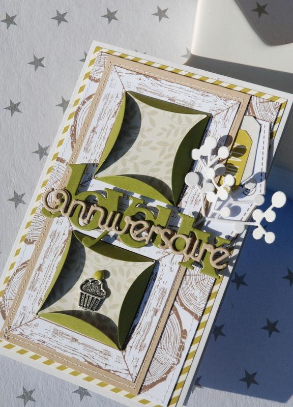 Carte Zibuline breloque cupcake