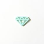 Diamant bleu ciel Zibuline
