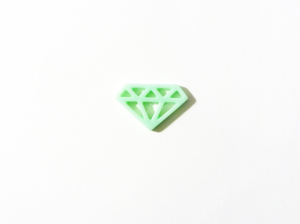 Diamant vert menthe Zibuline