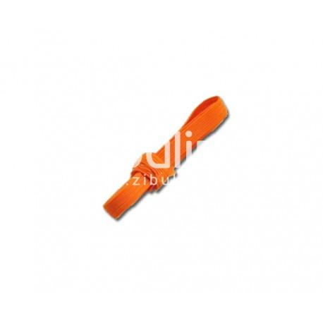 Elastique plat - Orange