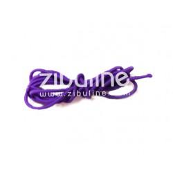 Elastique rond - Violet