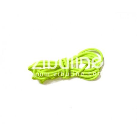 Elastique rond - Jaune fluo
