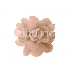 Fleur chiffon - Beige