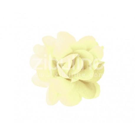 Fleur chiffon - Ecru