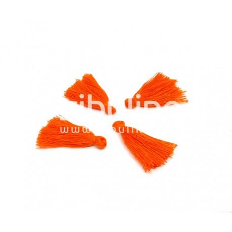 Pompon fils - Orange