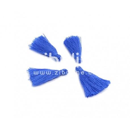 Pompon fils - Bleu foncé