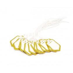 Etiquettes bijoutier - Ecusson doré