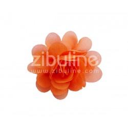 Fleur chiffon - Orange
