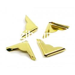 Coins métal - Fantaisie dorés