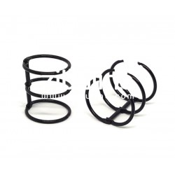 Reliure 3 anneaux - 3 cm noir