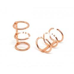 Reliure 3 anneaux - 2 cm cuivré