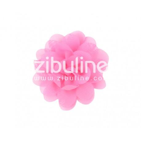 Fleur chiffon - Rose