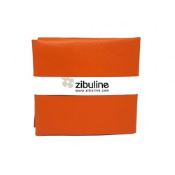 Coupon simili cuir - Orange