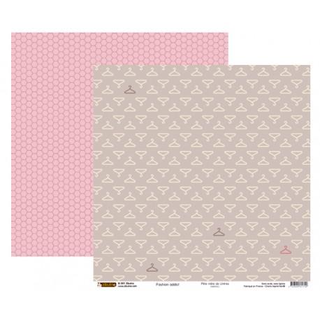 Papier 30x30 - Fashion addict / Cintres