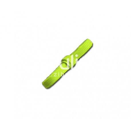 Elastique plat - Vert anis