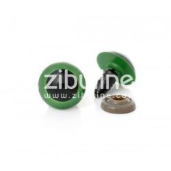 Yeux de sécurité - 12 mm noir et vert