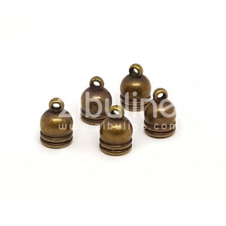Capuchons 8 mm - Bronze