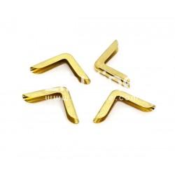 Coins métal - Simples fins dorés
