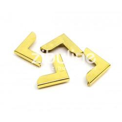 Coins métal - Simples dorés