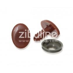 Yeux de sécurité - Oval marron 10x13 mm