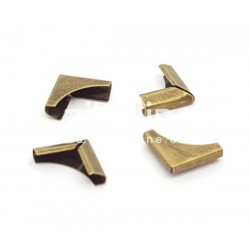 Coins métal - Plein bronze