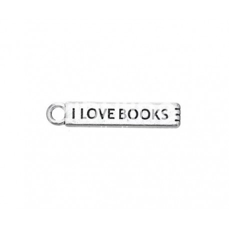 Breloque - I love books