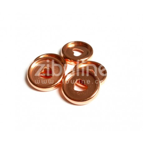 Disques à relier - 24 mm Cœur Rose gold