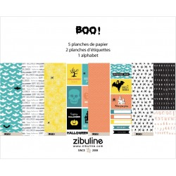 """Collection papiers """"Boo"""""""