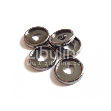 Disques à relier - 24 mm Cœur Anthracite
