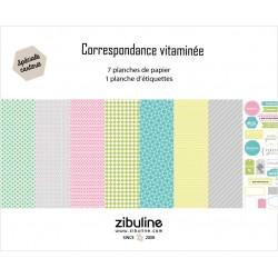 """Collection """"Correspondance vitaminée"""""""