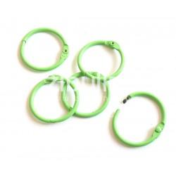 Anneaux de reliure 25 mm - Vert pastel