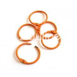 Anneaux de reliure 25 mm - Orange