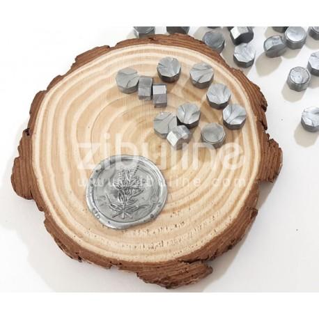 Pastilles de cire - Argenté nacré