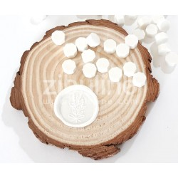 Pastilles de cire - Blanc