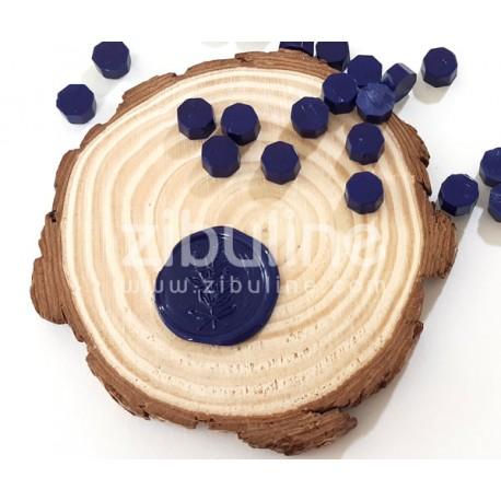 Pastilles de cire - Bleu marine