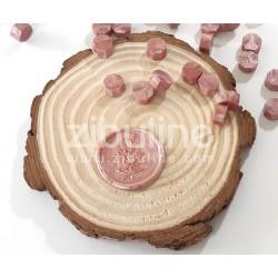 Pastilles de cire - Vieux rose nacré