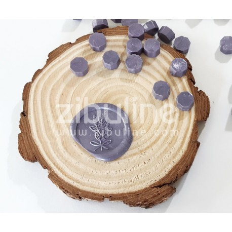 Pastilles de cire - Violet clair nacré