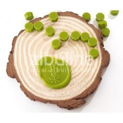 Pastilles de cire - Vert anis