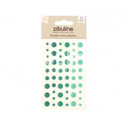 Pastilles autocollantes - Turquoise