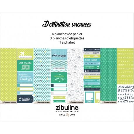 """Collection """"Destination vacances"""""""