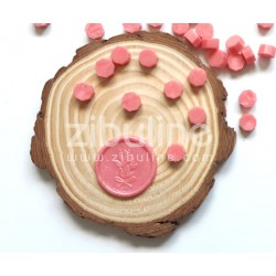 Pastilles de cire - Rose pastèque nacré