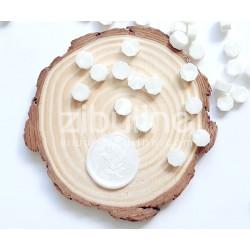 Pastilles de cire - Blanc nacré
