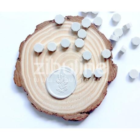 Pastilles de cire - Gris perle
