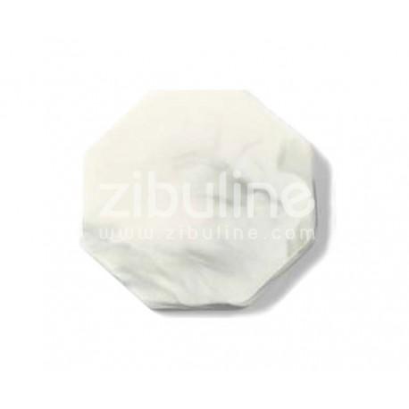 Support céramique pour cachets de cire - Hexagonal marbré gris