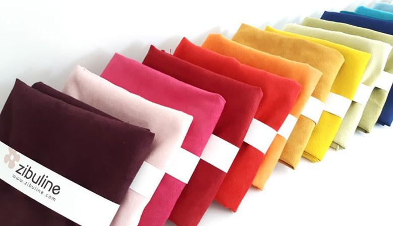 Gamme de coupons suédine - 22 couleurs